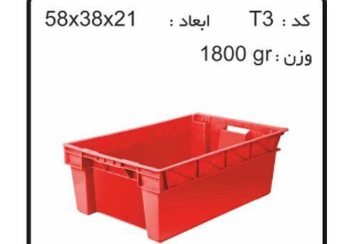 جعبه های صادراتی (ترانسفر) کدT3